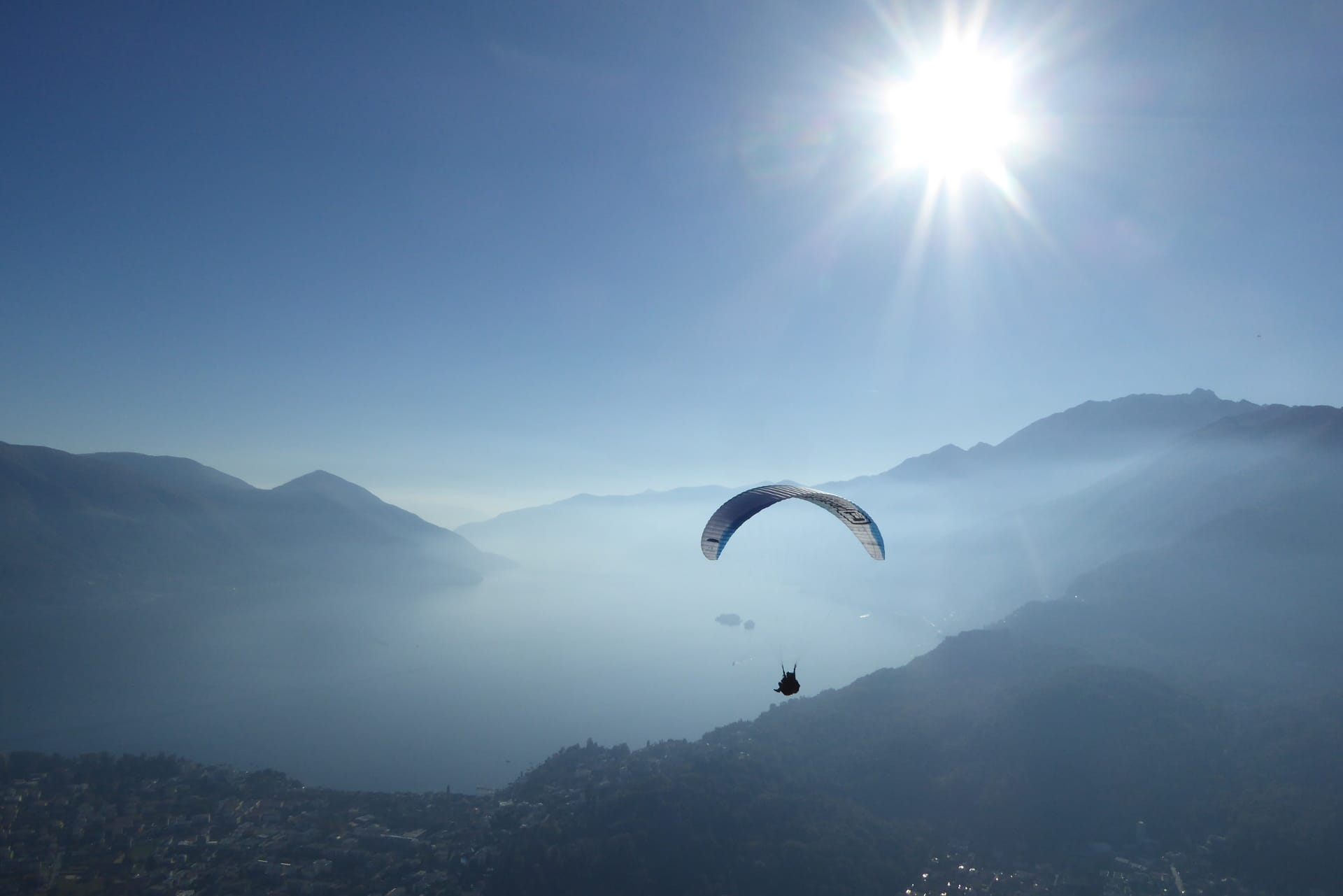 Paragliding with Mountaingliders