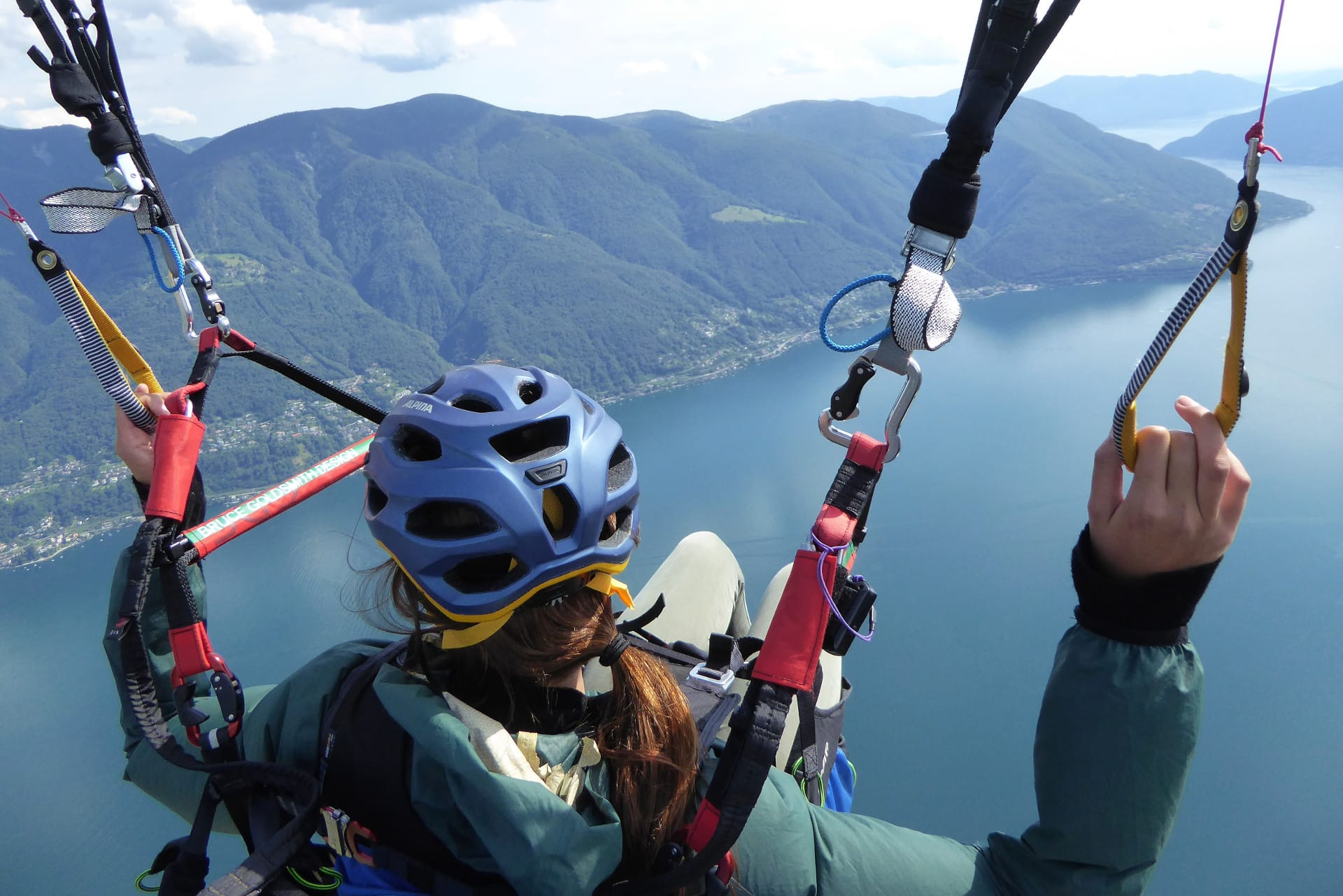 Paragliding Yourself