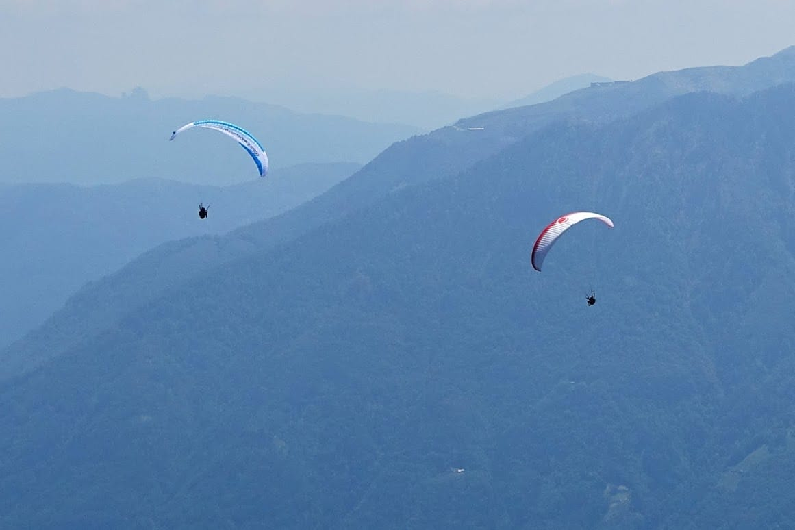 Paragliding Thermalling